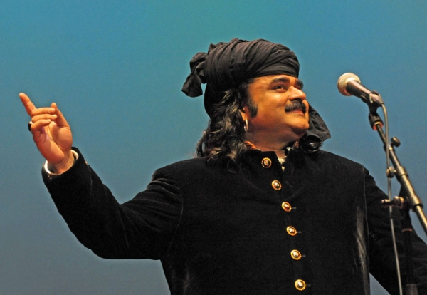 Punjabi singer Arif Lohar sold out two concerts at Asia Society New York on April 27 and 28, 2012. (Elsa Ruiz/Asia Society)