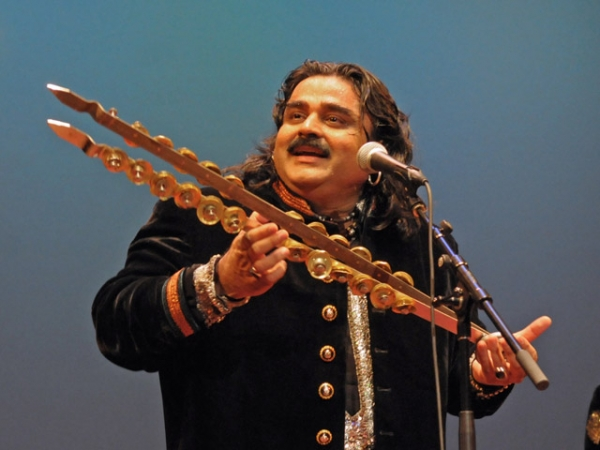Arif Lohar in concert at Asia Society New York on Saturday, April 28, 2012. (Elsa Ruiz/Asia Society)