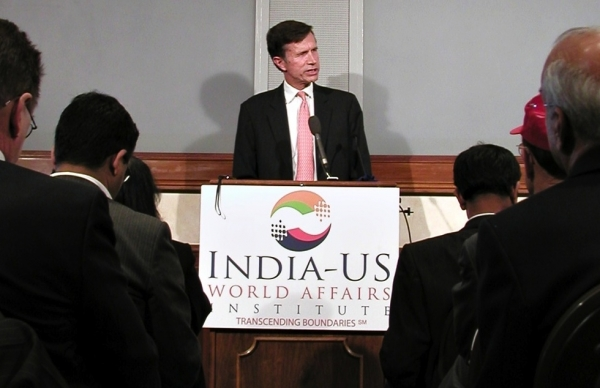 Assistant Secretary of State Robert Blake makes remarks to the U.S.-India World Affairs Institute in Washington, D.C., on June 4, 2012. (Stella Park/Asia Society)