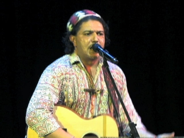 Arieb Azhar in concert in New York City on July 3, 2012.