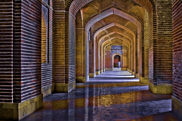 Shah Jahan Mosque built in 1647 in Thatta. (Muhammad Ahmed/Flickr)