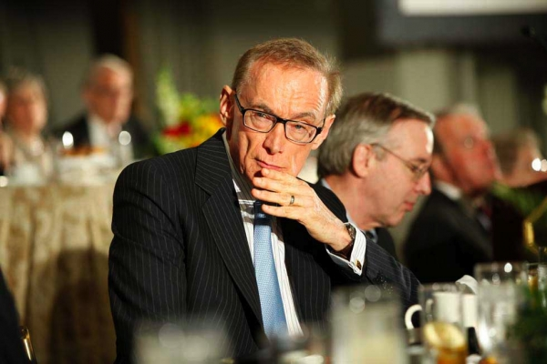 Australian Foreign Minister Bob Carr at the Pierre Hotel in New York City on September 24, 2012. (Brian Stanton)