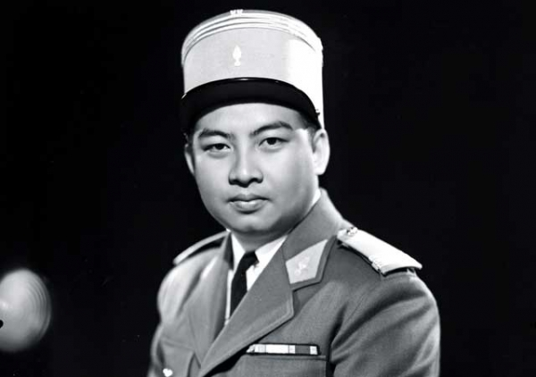 Cambodian King Norodom Sihanouk (1922-2012), shown here in French-style military uniform in 1953. (Stringer/AFP/GettyImages)