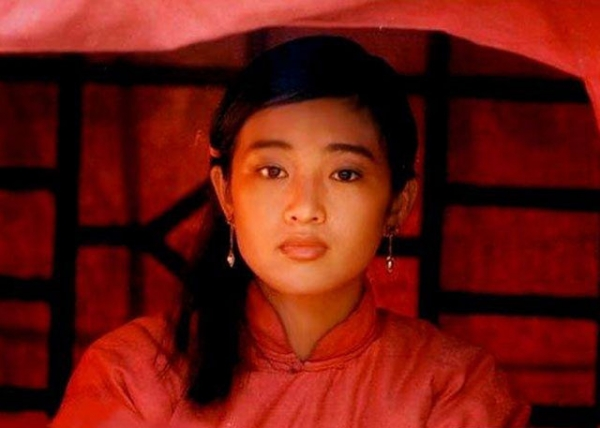 Gong Li in 'Red Sorghum' (1987), directed by Zhang Yimou.