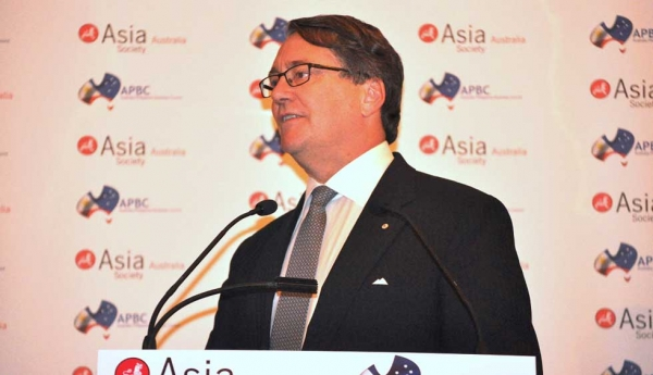 The Hon. Warwick Smith AM, Chairman, Asia Society Australia. (Ian Lever)