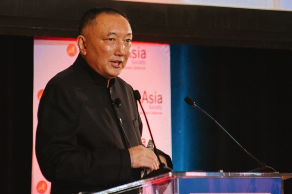 Han Sanping, Chairman, China Film Group. (Molly Ann/Asia Society)