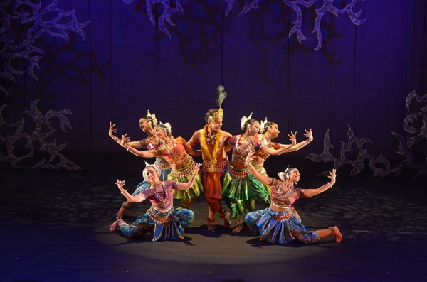 Malaysia's Sutra Dance Theater presented 'Krishna: Love Re-Invented' at Asia Society New York on November 6 and 7, 2014. (Elsa Ruiz/Asia Society)