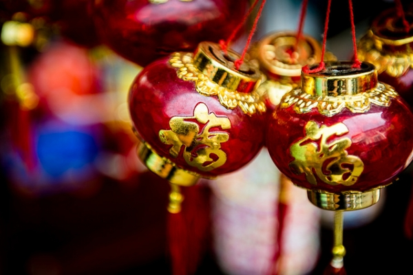 A string of ornaments sold in Chinatown in Singapore on October 20, 2012. (Damian Bere/Flickr)