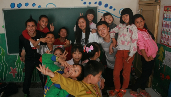 High school Summer Institute in Yunnan: teaching English to migrant workers' children (Portland Public Schools)