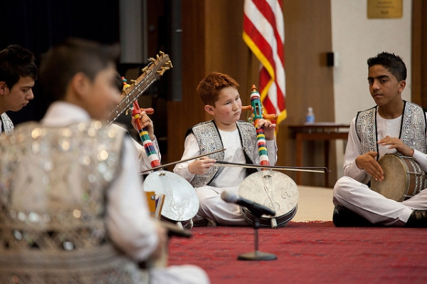 The Afghanistan National Institute of Music visited the U.S. Department of State to perform traditional Afghan music on February 4, 2013. (U.S. Dept of State: South and Central Asia/ Flickr)