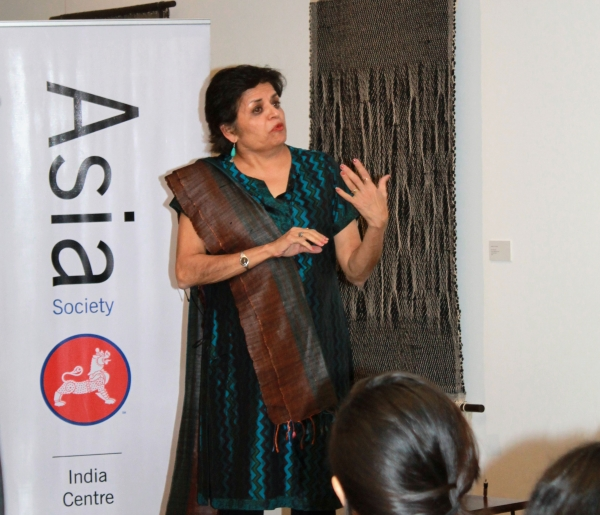 "Asia Society President Emerita Vishakha Desai was one of the many speakers featured at Asia Society India Centre's ""Women and Violence"" discussion in Mumbai on Feb. 7, 2013. (Asia Society India Centre)"