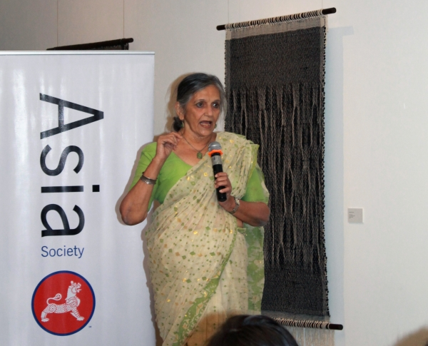 Flavia Agnes, lawyer at the Bombay High Court, and Founder, Majlis. (Asia Society India Centre)
