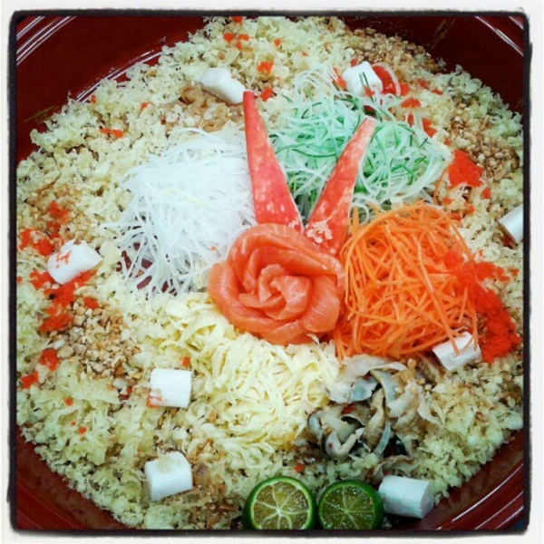 "40. ""Yee Sang on 7th day of CNY."" (easteryeoh)"