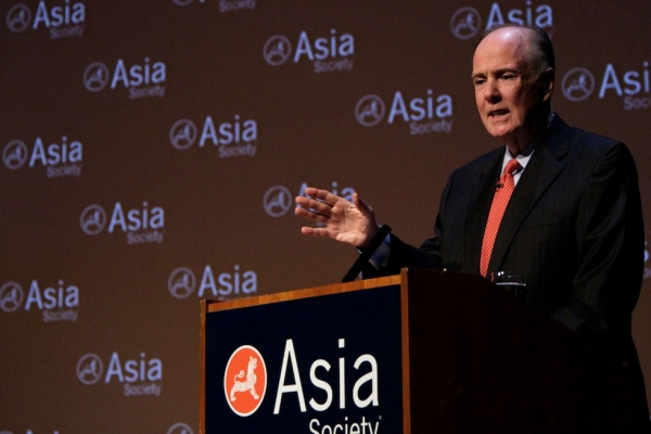 United States National Security Adviser Thomas Donilon speaks at Asia Society New York on March 11, 2013. (Bill Swersey/Asia Society)