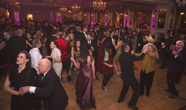 Wild times on the dance floor. (Bennet Cobliner/Asia Society)