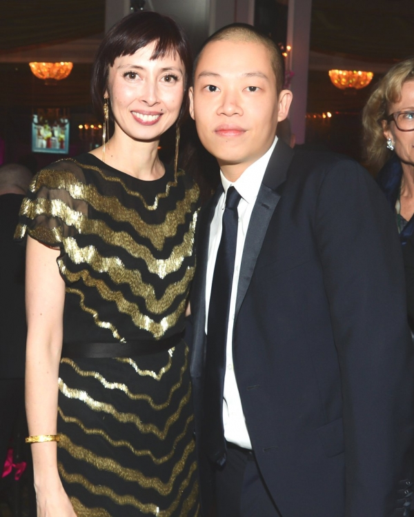 Asia Society Senior Vice President for Global Arts Melissa Chiu and Jason Wu. (Joe Schildhorn/BFAnyc.com)