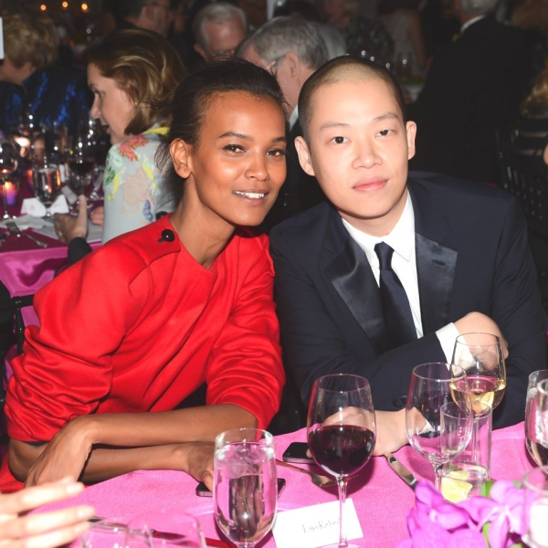 L to R: Liya Kebede and Jason Wu. (Joe Schildhorn/BFAnyc.com)