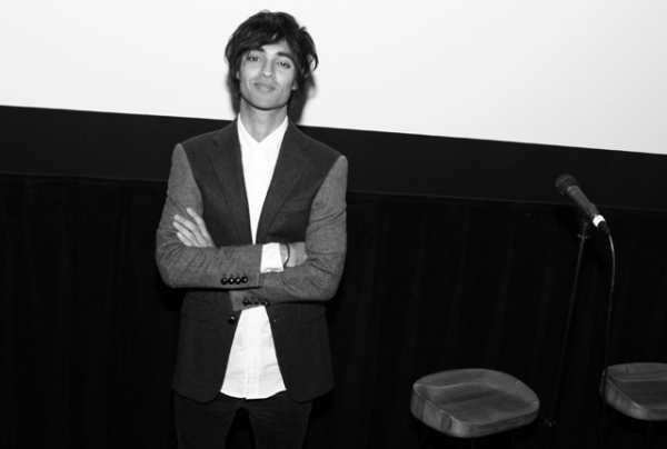 "Punjabi American music maven Amrit Singh is the director of a new short film, ""Dosa Hunt."" (Laura June Kirsch)"