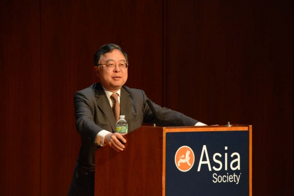Asia Society Co-Chair Ronnie C. Chan at Asia Society New York on May 21, 2013. (Kenji Takigami)