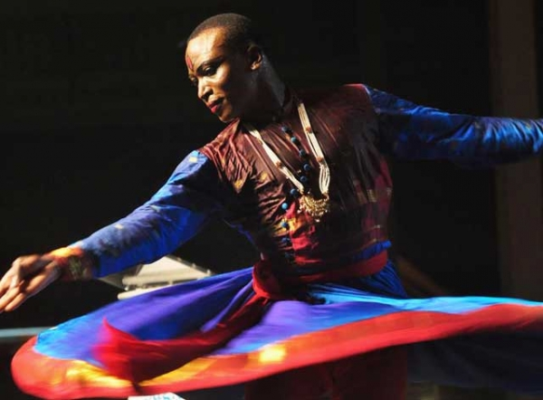 Trinidad native Quincy Kendell Charles moved to New Delhi in 2008 to pursue his love of Kathak, the traditional Indian dance form. (Edison Boodoosingh)