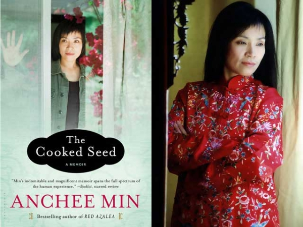 """The Cooked Seed"" (Bloomsbury, 2013) by Anchee Min (R). (Naishi Min)"