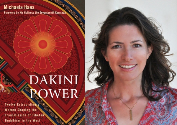"""Dakini Power"" (Snow Lion/Shambhala, 2013) by Michaela Haas (R)."