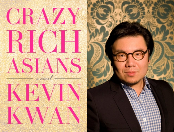 """Crazy Rich Asians"" (Doubleday, 2013) by Kevin Kwan (R). (Alexis Rodriguez-Duarte)"