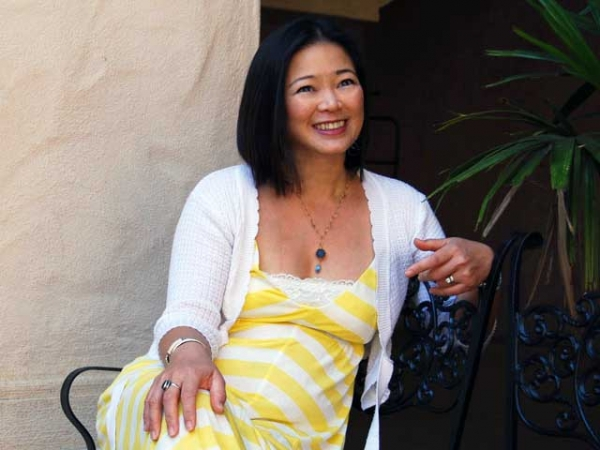 "Novelist Marivi Soliven, author of ""The Mango Bride."" (Nancy Kwak)"