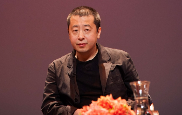 Director and screenwriter Jia Zhangke at Asia Society New York on Sept. 30, 2013. (Shi Ying)