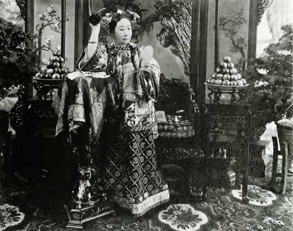 "Empress Cixi (1835-1908) is the subject of Jung Chang's revisionist new biography ""Empress Dowager Cixi."" (Freer Sackler Gallery Archives)"