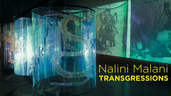 "Nalini Malani's ""Transgressions,"" currently on view at Asia Society Museum in New York City."