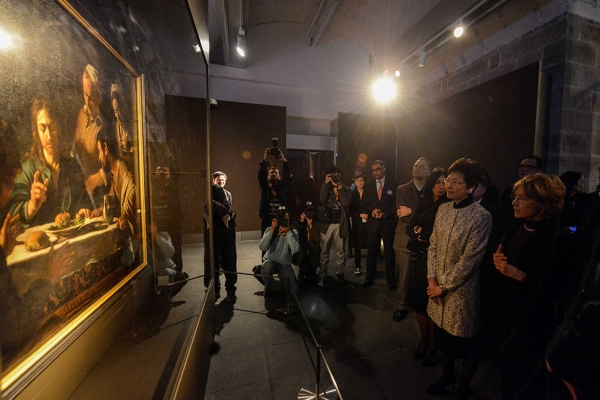 'Light and Shadows — Caravaggio • The Italian Baroque Master' enthralled visitors to Asia Society Hong Kong from March 12 to April 13, 2014. (Asia Society)