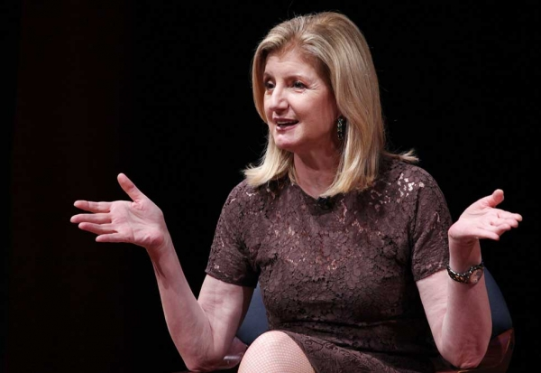 Arianna Huffington at Asia Society New York on June 26, 2014. (Ellen Wallop/Asia Society)