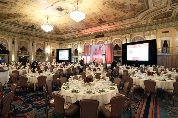 Asia Society's 2014 U.S.-China Film Summit and Gala was held at the Millennium Biltmore Hotel in Los Angeles on Nov. 5, 2014. (Ryan Miller/Capture Imaging)