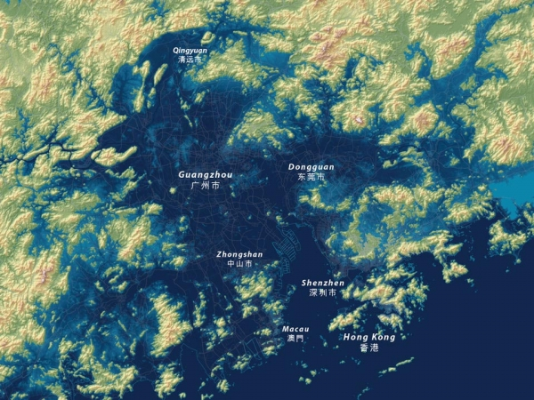 Rising sea levels could dramatically alter the Pearl River Delta, where more than 30 million people live.