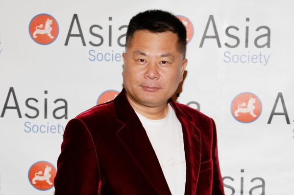 Shi Jianxiang, chairman of Shanghai Kuailu Investment Group, poses during the 2015 Asia Society U.S.-China Film Summit and Gala held at the Dorthy Chandler Pavilion on Thursday, November 5, 2015, in Los Angeles, Calif. (Ryan Miller/Capture Imaging)
