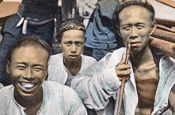 Recently released photos show life in early 20th century China.