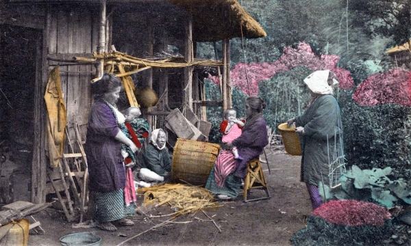 """Basket-maker."" (New York Public Library)"