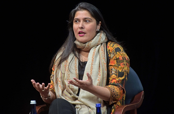 Director Sharmeen Obaid-Chinoy says Pakistani laws currently do not do enough to deter honor killings. (Elsa Ruiz/Asia Society)