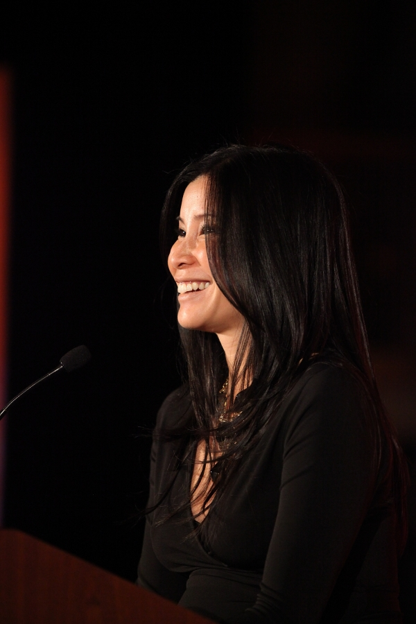 Host journalist Lisa Ling speaks during the Asia Society Southern California 2013 Annual Gala held at the Millennium Biltmore Hotel on Tuesday, February 19, 2013 in Los Angeles, Calif. (Photo by Ryan Miller/Capture Imaging)