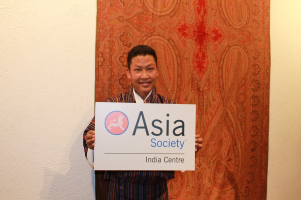 Asia Society India Centre presented Bhutan's master musician Kheng Sonam Dorji in Mumbai on January 24, 2013. (Asia Society India Centre)
