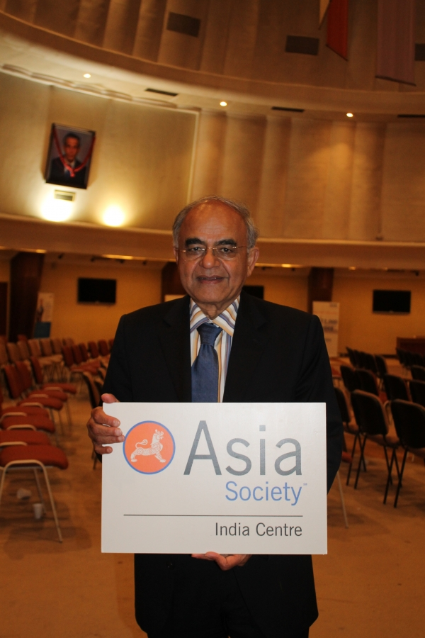 Gurcharan Das, author, columnist, and Former CEO, Procter & Gamble India. (Asia Society India Centre)
