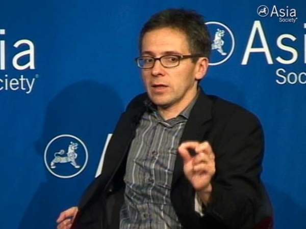 Analyst Ian Bremmer at Asia Society New York on May 24, 2012.