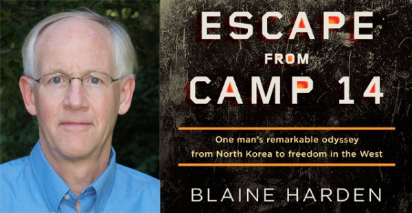 Blaine Harden and his new book 'Escape From Camp 14.' (Blaine Harden photo by Blake Chambliss)
