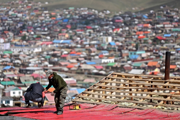 In recent years, more than a million Mongolians have moved into Ulaanbaatar, by far the country's largest city. Photographed on June 22, 2012.