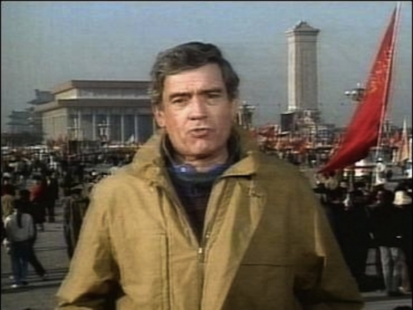 Dan Rather Reporting from Beijing, 1989 (Dan Rather/CBS News)