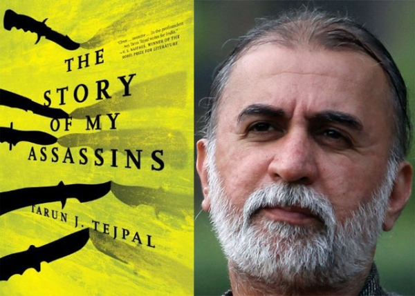 Tarun J. Tejpal (R), author of 'The Story of My Assassins.' (Shailendra Pandey)