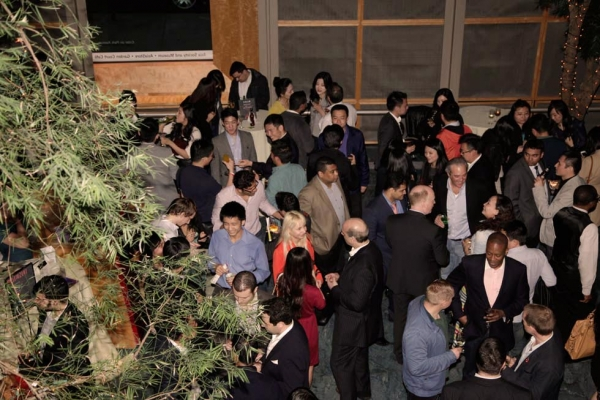 The celebration drew hundreds of people to Asia Society New York. (Tahiat Mahboob/Asia Society)