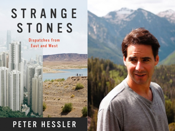 """Strange Stones"" (Harper Collins, 2013) by Peter Hessler (R). (Hessler photo: Darryl Kennedy)"