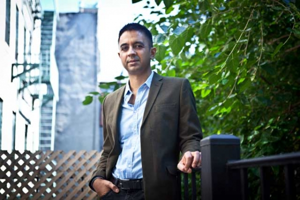 Jazz pianist, bandleader and composer Vijay Iyer, shown here in New York City in 2013, is a 2013 recipient of a MacArthur Foundation fellowship. (MacArthur Foundation)